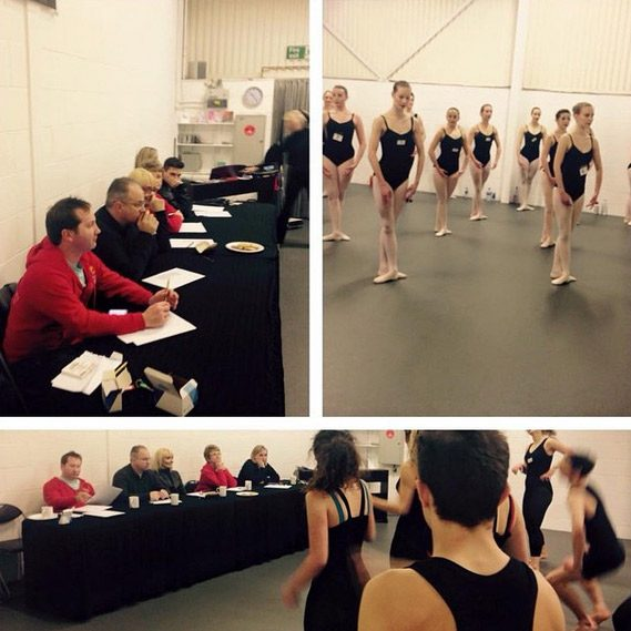 Auditions at Evolution Foundation College